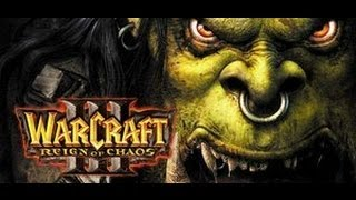 Warcraft 3 Regin of Chaos Gameplay - Human Campaign Chapter Three Ravages of the Plague