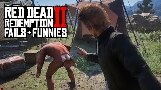 Red Dead Redemption 2 - Fails & Funnies #39
