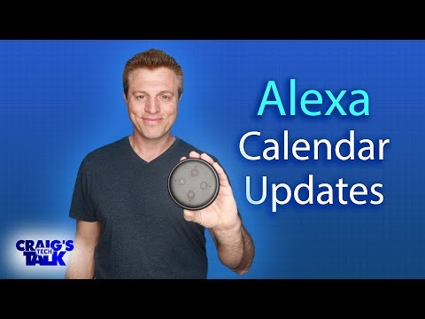 Amazon Alexa Calendar Updates - Scheduled Routines And Availability