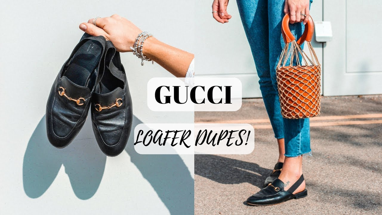 f285f206c20 8 GUCCI LOAFER DUPES £35 - £75 ON THE HIGH STREET