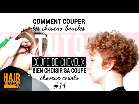 Comment couper les cheveux ondules (crepus, frises) HAIR France TV
