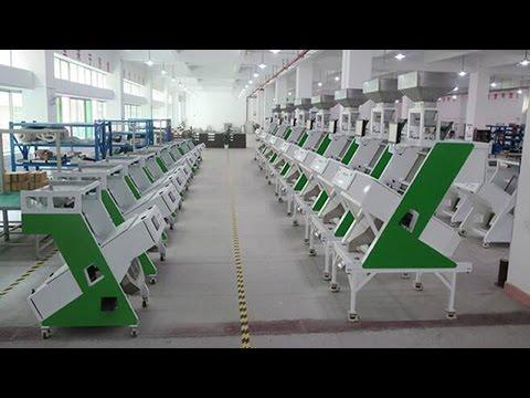 Herbal granules rice tea sorting equipment automatic color sorter machinery riz équipement de tri