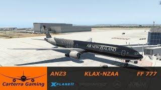 ANZ3   KLAX-NZAA   Flight Factor 777   X-Plane 11
