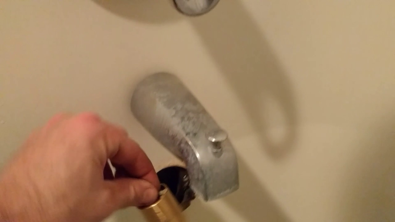 How to retrieve a tub drain trip that fell off the linkage - YouTube