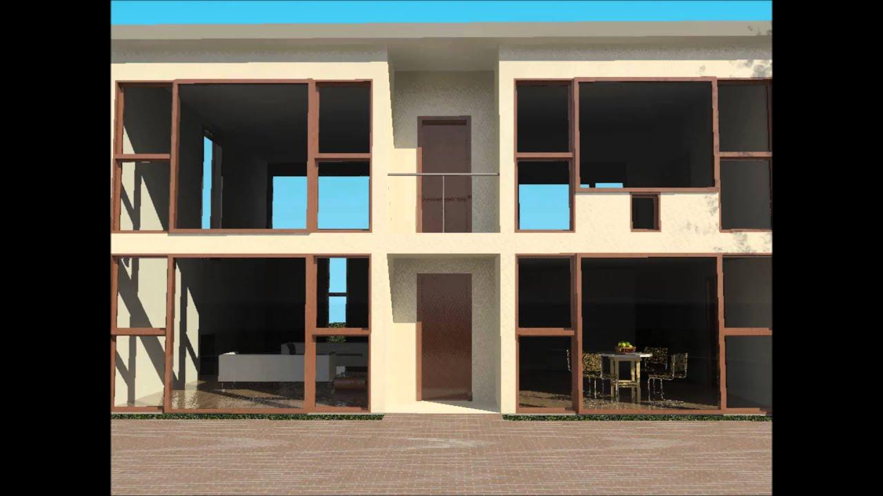 Revit Walkthrough Of Margaret Esherick House Louis Kahn