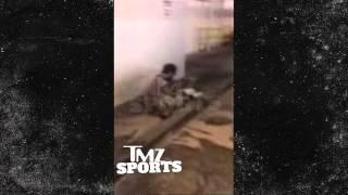Albert Haynesworth -- DUMPS WATER ON TRANSIENT ... Stop Harassing My Customers! | TMZ Sports