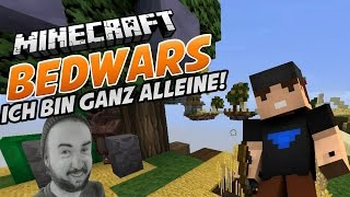 ICH BIN GANZ ALLEINE - Minecraft Bedwars mit Sturmwaffel  | Peterle