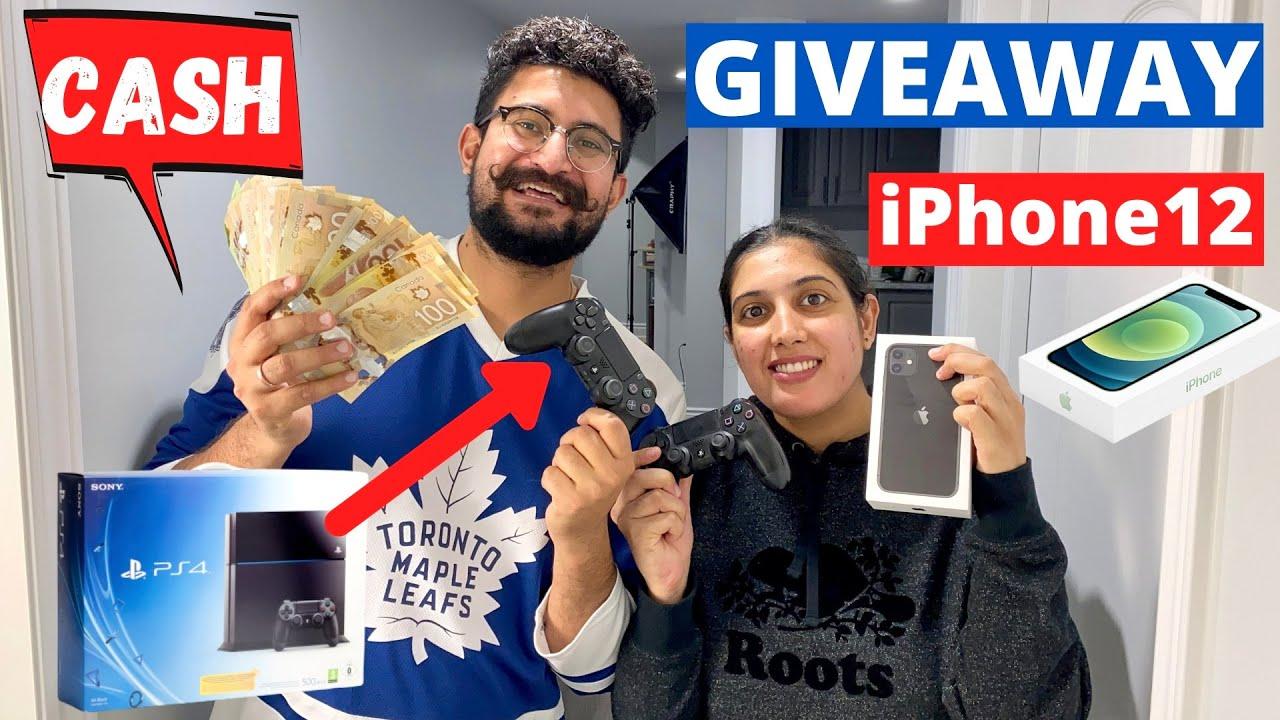 Punjabi Vlogger Giveaway [iPhone 12, PS4 and $500 Cash Prize]