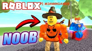 I HAPPEN BY NOOB AND TRUST! 🔥 Roblox Super Power Training Simulator