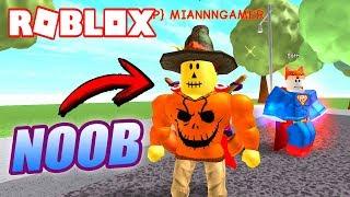 ME HAGO PASAR por NOOB y SE CONFIAN! 🔥 Roblox Super Power Training Simulator
