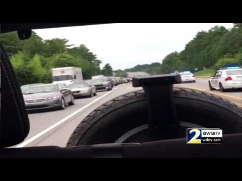 Viewers send in video of Gwinnett County police chase