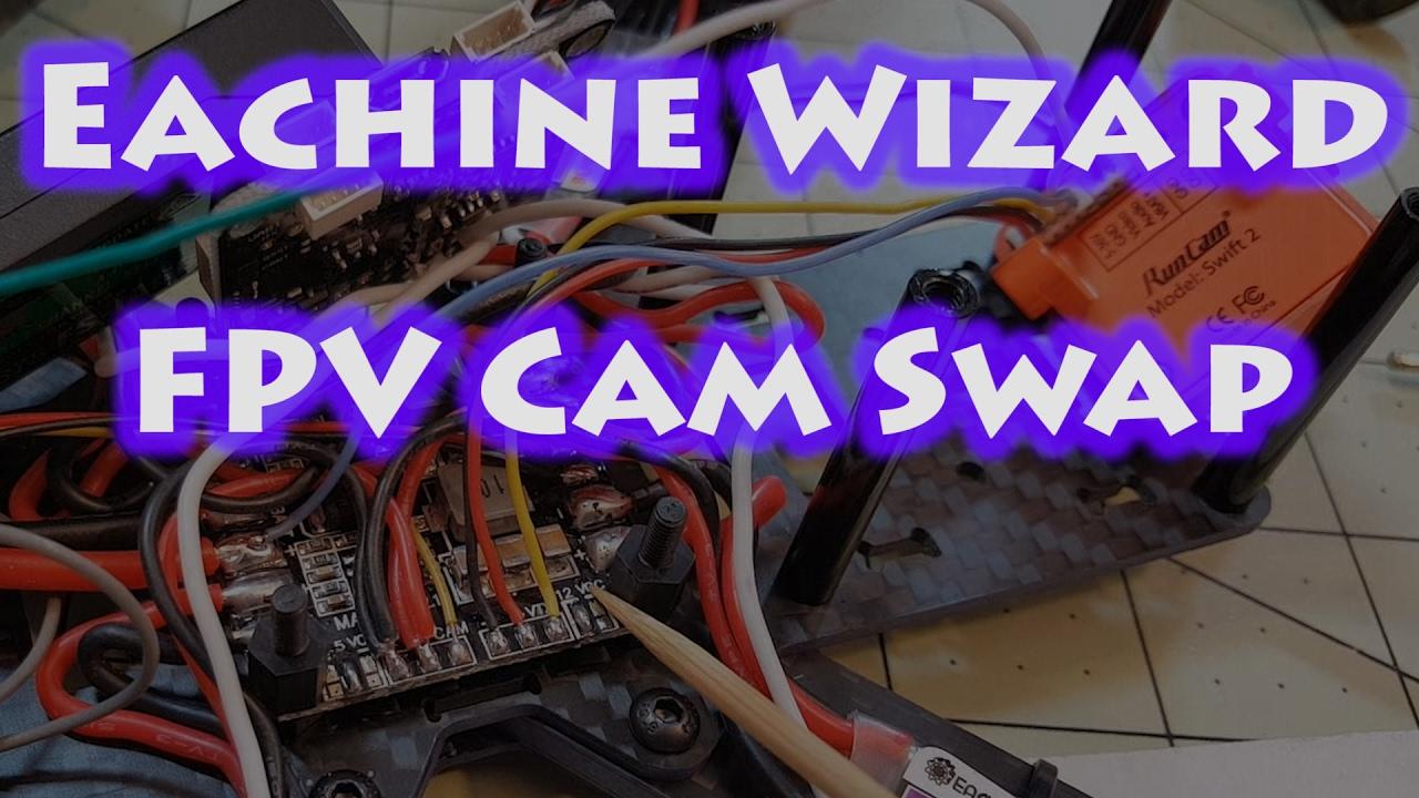Eachine Wizard Runcam Swift 2 Install Youtube Fpv Wiring Diagram