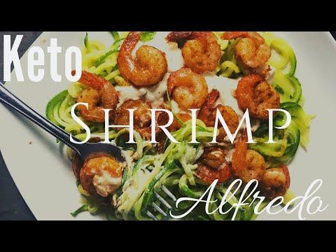 keto-recipe-|-keto-alfredo-sauce-recipe-with-shrimp-&-zoodles-|-keto-diet