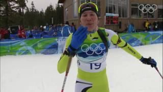 Kuzmina - Women's Biathlon - 7.5Km Sprint - Vancouver 2010 Winter Olympic Games