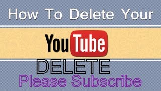 How to Delete a Video from YOUTUBE new November 2018