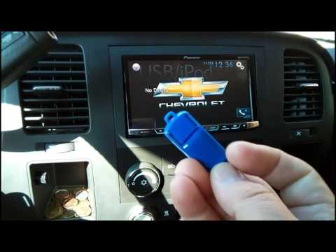 How to play usb video on pioneer 4800BS
