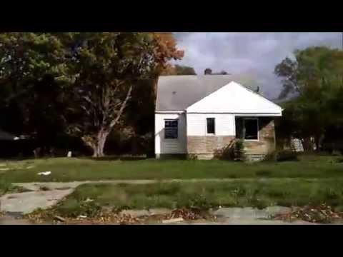 Detroit Neighborhood Where  Eminem Lived.