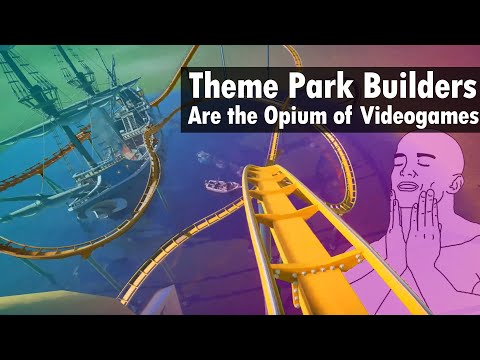 What is it about Theme Park Games? - Planet Coaster |