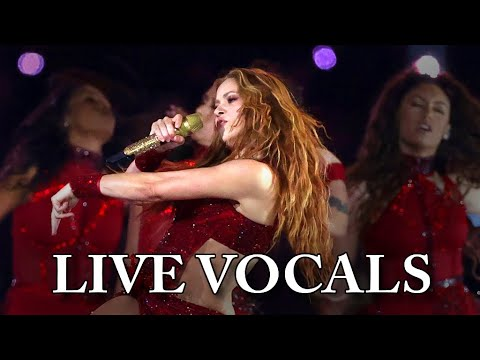 Shakira Super Bowl LIV Halftime Show - Live Vocals (Preview)