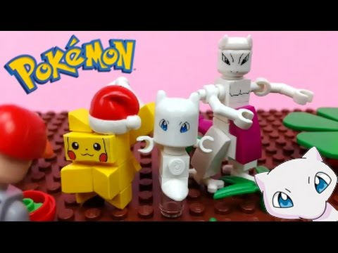 Lego Pokemon Mew Brick Figure Youtube