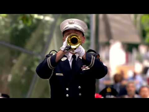 Taps played at 9/11 Memorial event on Sept. 11, 2016