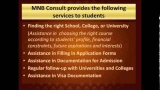 MNB Consult. Образование за рубежом(, 2013-02-15T08:00:52.000Z)