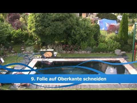 swimmingpool selbst gemacht youtube. Black Bedroom Furniture Sets. Home Design Ideas