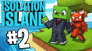 A visit.. from DIANITE! - (Isolation Island) - Episode 2