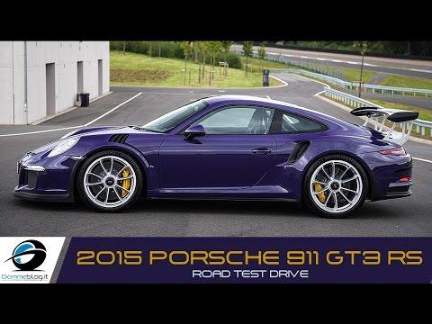 Porsche 911 GT3 RS SOUND ACCELERATIONS | ROAD TEST DRIVE