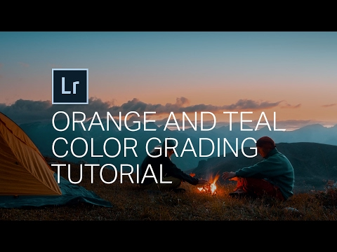 How to get the 'Orange and Teal' look in Adobe Lightroom