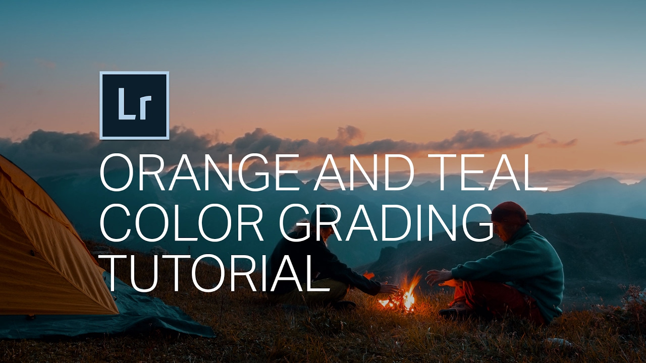 How To Create The Orange And Teal Look In Adobe Lightroom Camera Raw