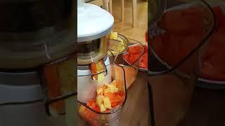 휴롬 소리 - 사과 당근 주스 151201