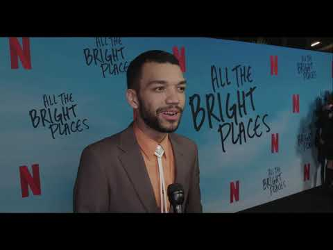 "Justice Smith - ""Theodore Finch""  ""ALL THE BRIGHT PLACES"""
