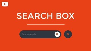 Awesome CSS Search Box Using Only HTML & CSS
