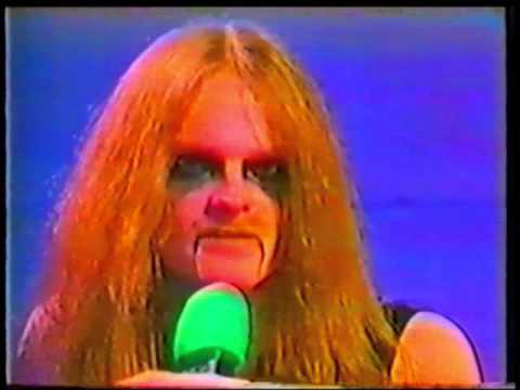 Celtic Frost -  Interview on Swiss TV 1985