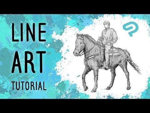 Line Art Tutorial - CLIP STUDIO PAINT