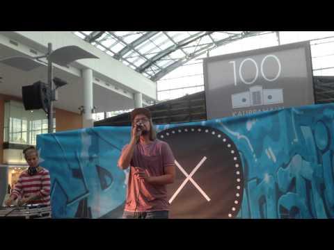 Jukka Poika feat. DJ Stormy-  Silkkii live