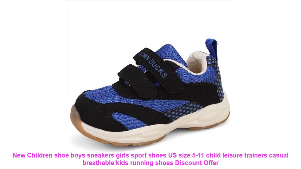 New Baby Mesh Shoes Breathable Kids Boy Girl Sports Shoes Toddler Size 5-11