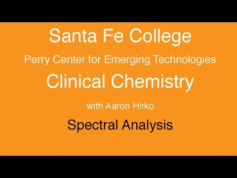 Santa Fe College: Clinical Chemistry Measurements using light