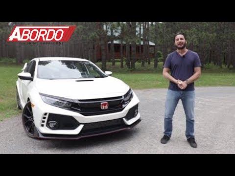 Honda Civic Type R 2017 Prueba A Bordo Completa