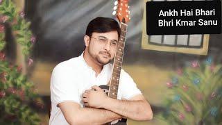 Ankh hai bhari bhari by kumar sanu singer Dr. Suneet Sekhri in kishore kumar style 1st time in world