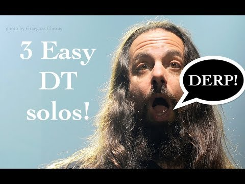 3 Easy Dream Theater Guitar Solos