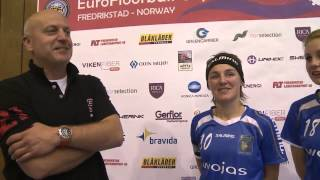 EFC 2014 Interview MMKS Podhale after 5th place match