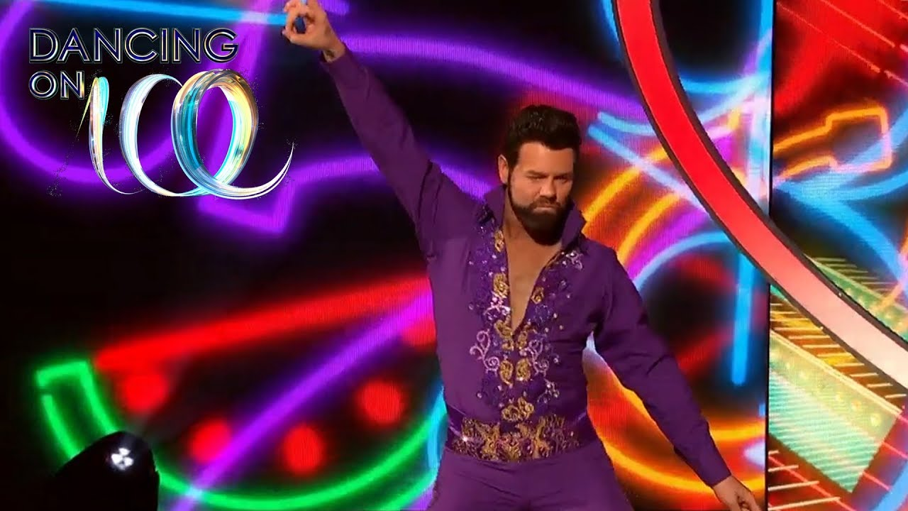 Brian Channels Elvis In Time Tunnel Week Dancing On Ice 2019 Youtube