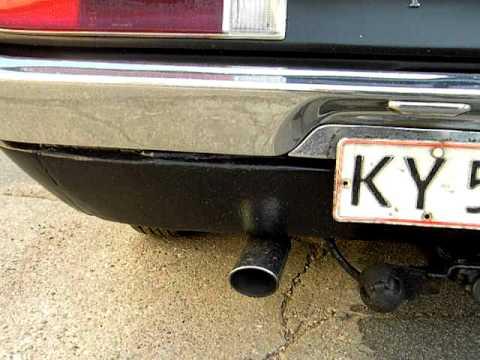 Cologne V6 idling...