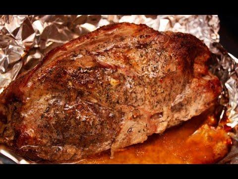 Как запечь большой кусок мяса