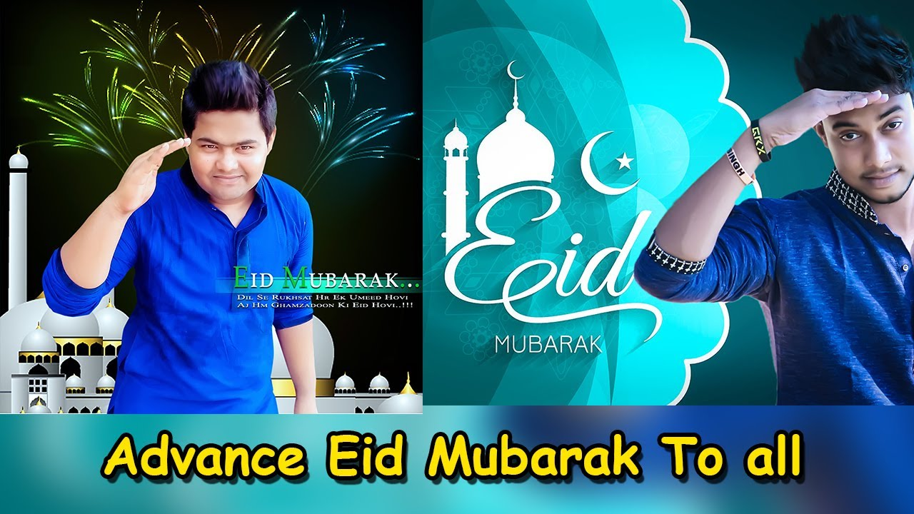 Photo editing services eid mubarak