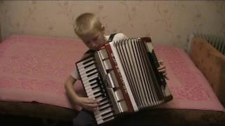 Гаврилин комическое шествие аккордеон 1я партия