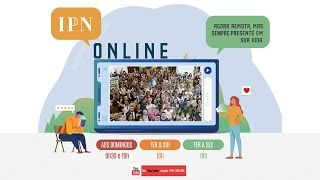 LIVE PASTORAL IPN ONLINE #121 (1 Co 15.1-19 - Rev. Francisco Costa) – 15/10/2020