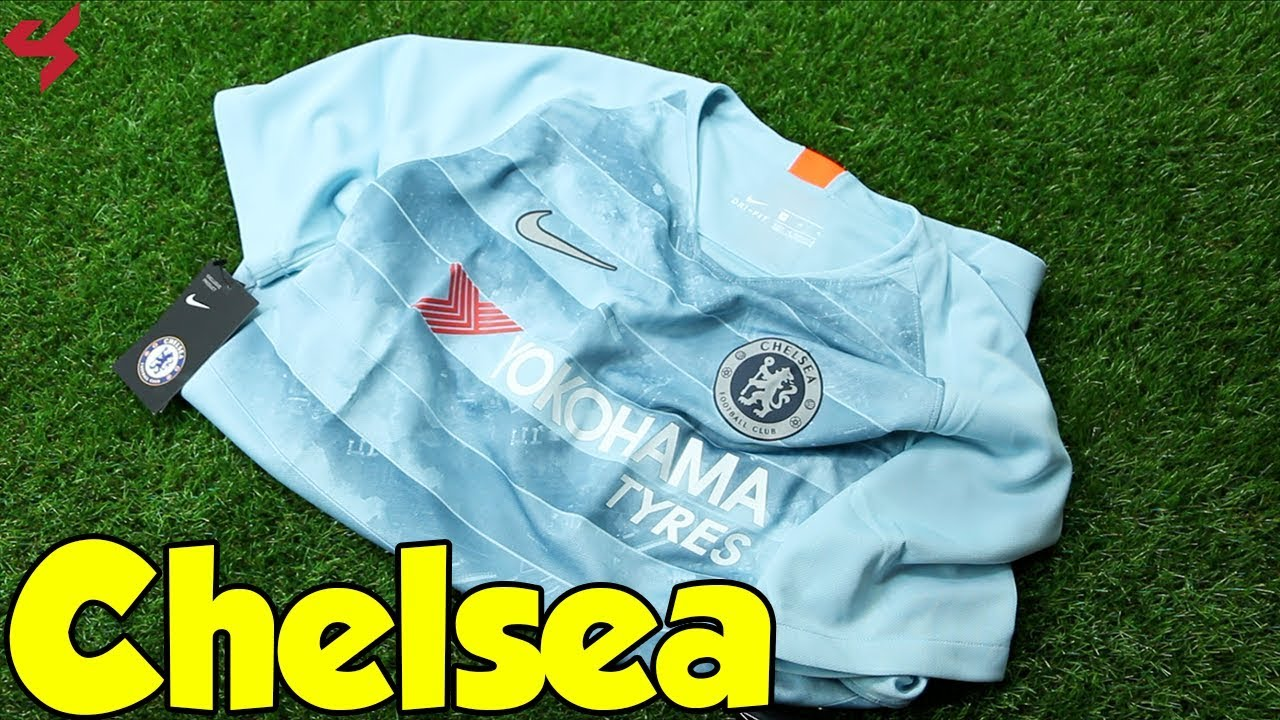 low priced 5d4d6 562e6 Nike Chelsea 2018/19 Third Jersey Unboxing + Review
